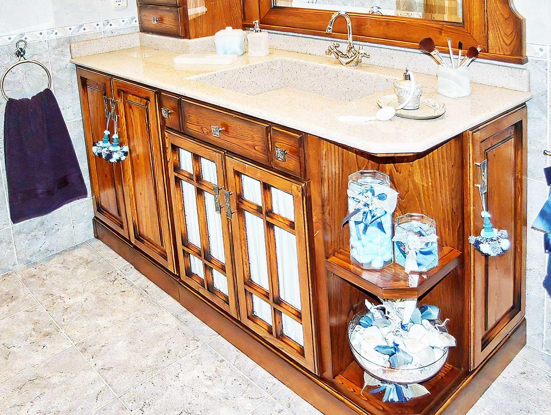 Cuarto de baño modelo «Aizarna» - Muebles Zelai-Txiki